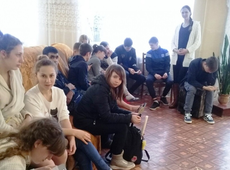 Мероприятие в общежитии колледжа «Вектор развития»