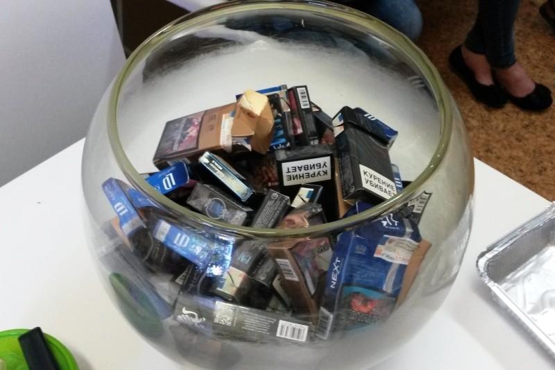 Я не курю! И вам не советую!
