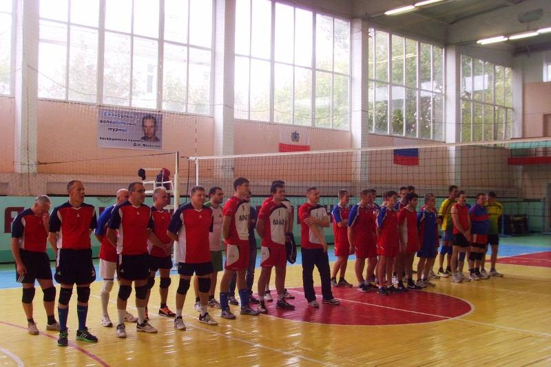 Турнир по волейболу памяти Монахова Ф.Н